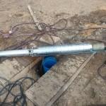 pompa głębinowa po zakończeniu pompowania pomiarowego