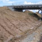 formowanie skarpy z gruntów spoistych drogi S10